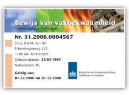 Uitvoeren Gewasbescherming (licentie 1) in de poolse taal.